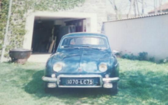 RENAULT ONDINE 1961